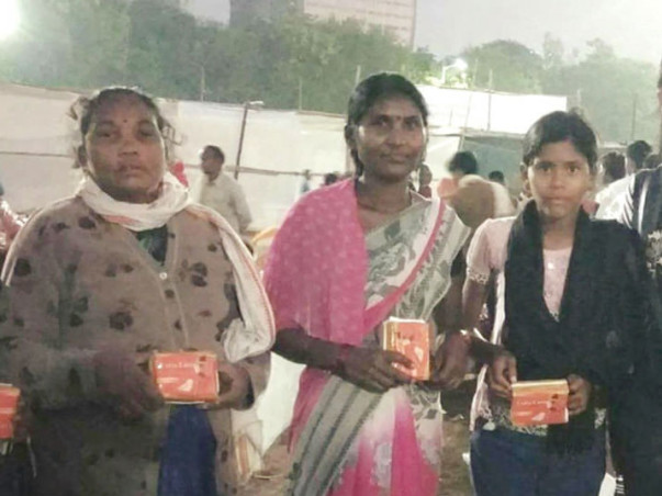 Donate Sanitary Napkins To Your Domestic Workers