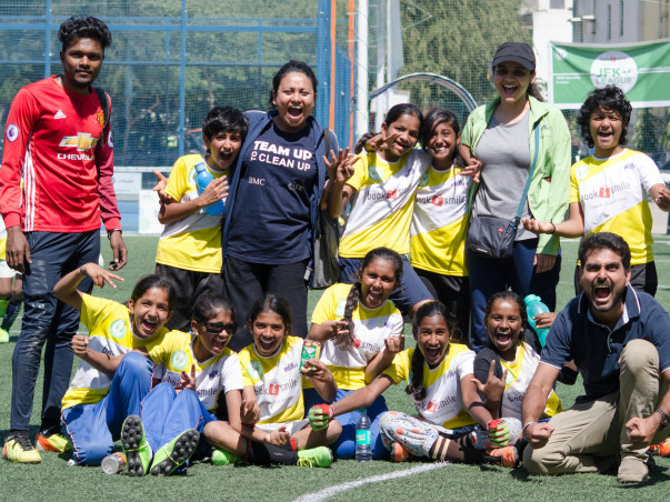 Support terrific SGV School Children for football and drama