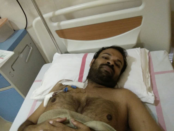 Help Thahaseer's battle against cancer