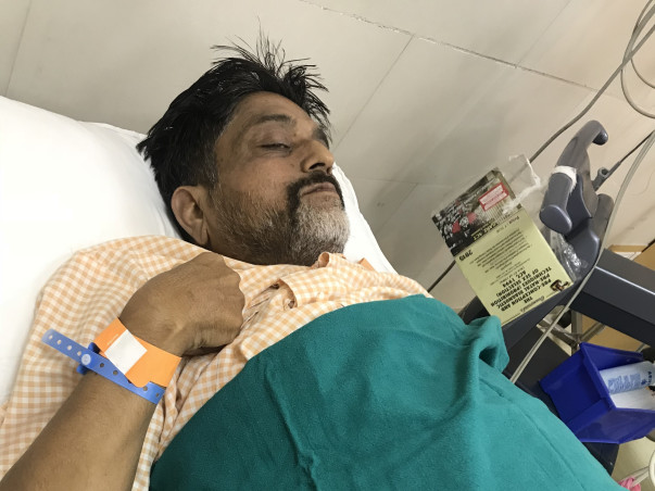 Help My Father Fight Liver Cirrhosis