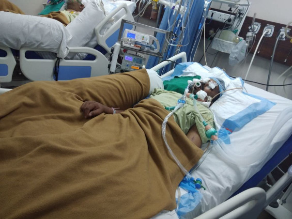 Help Ambadas Fight Battles In The ICU And Come Back Home