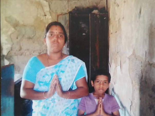 Help Rekha And Her Children Reconstruct Their Destroyed House