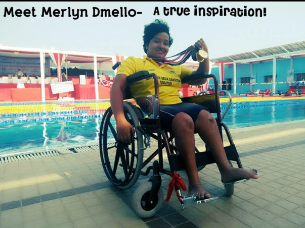 Help Merlyn participate in the Asian para games 2018