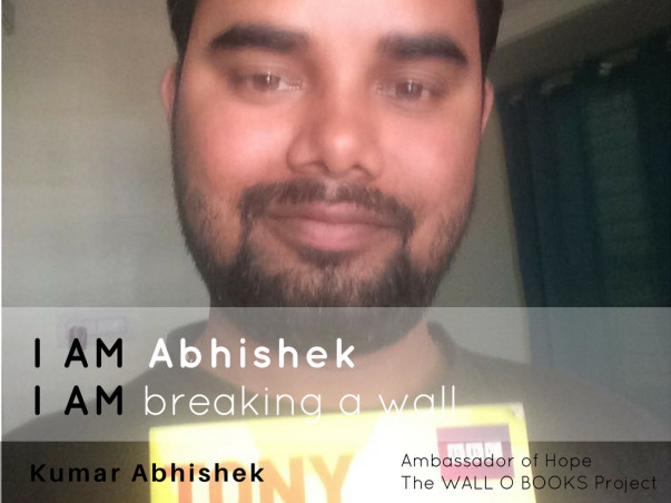 Join Abhishek to bring hope to 1 Million Kids in India