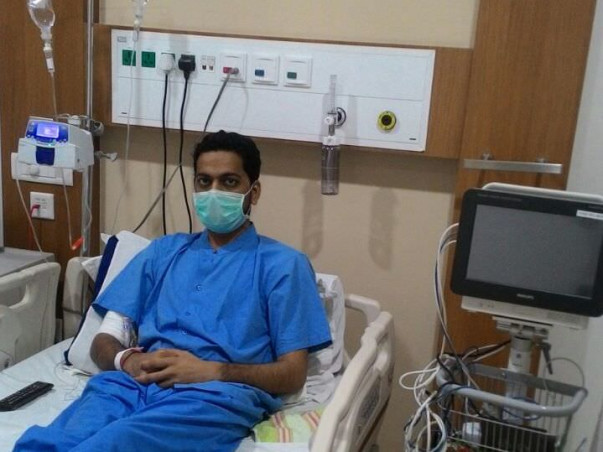 Help Ashish In His Fight Against Cancer