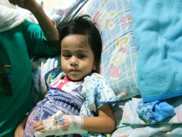 Help 2.5-Year-Old Udipta Fight Cancer