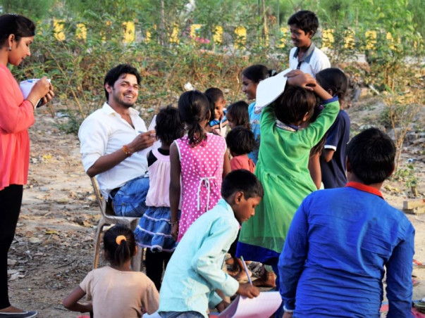 Accommodation and Meal to 125 Slum children to get their Right to Edu.
