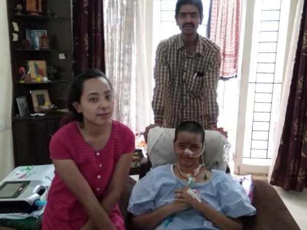 Help Vani Fight Diaphragmatic Weakness & Respiratory Failure
