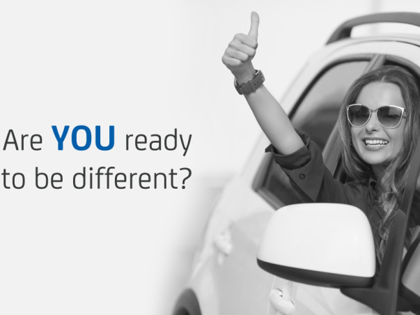 Let's Choose To Be Different And Lead By Example. Be A Happydriver!
