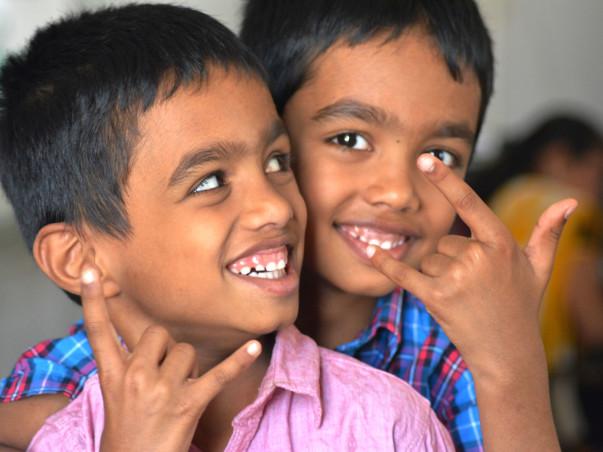 Help Hussain & Hassain Hear Their Mother's Voice!