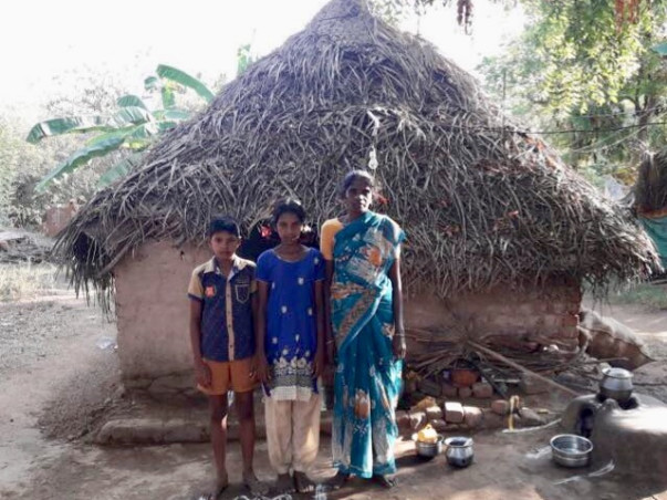 Save Widow Indra's Family From Poverty