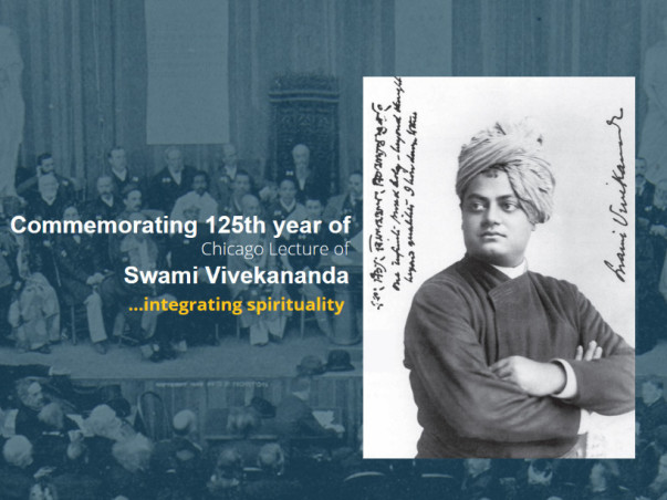 Commemorating 125 Years of Swami Vivekananda's Chicago Lecture