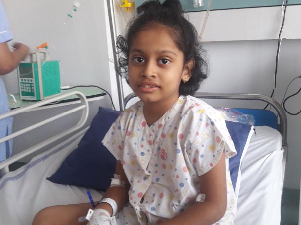 Help Akshaini fight blood cancer