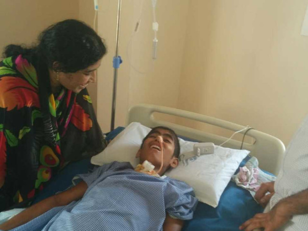 Help Moveen Baba To Fight Hemorrhage