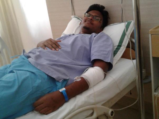 Help Arun Kingsley Fight Blood Cancer