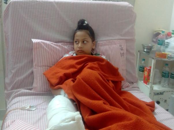 Help 8-year-old Sukhjot Walk
