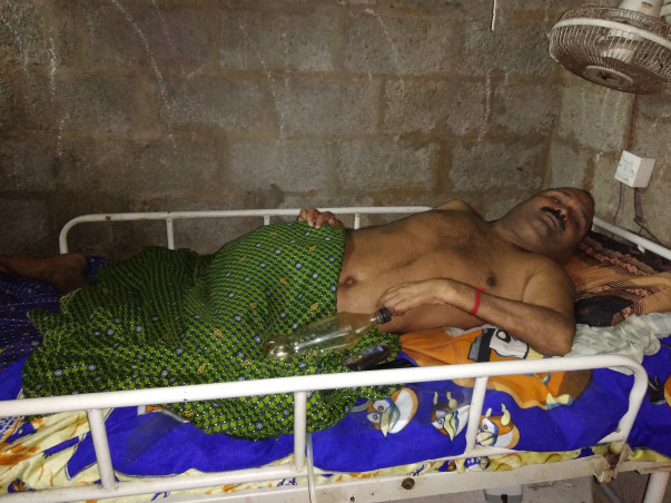 Help Binu to fight against his 90% disability