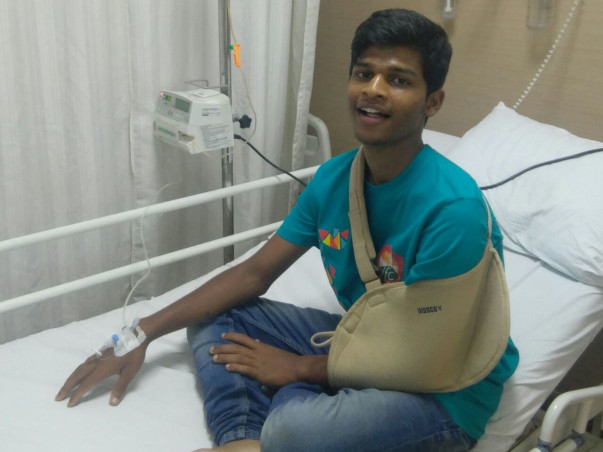 Help Sagar Fight Bone Cancer