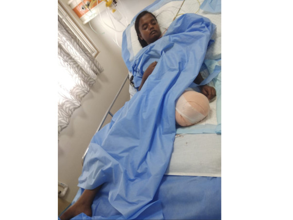 Help Miss Ebenezer Who Met with a Tragic Road Accident.