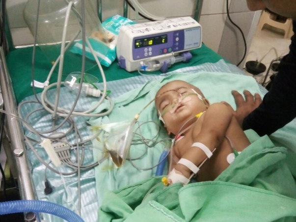 Help 10 Month Old Inaaya Fighting For Life.