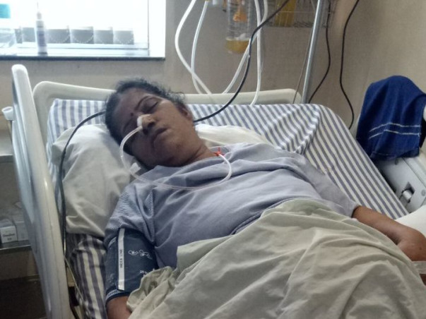 Help Mamta Is Fighting For Life Due To Brain Hemorrhage.
