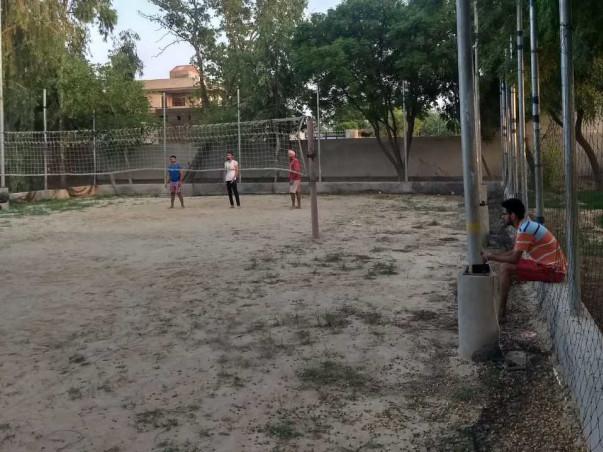 Help Us Rebuild The Volleyball Ground
