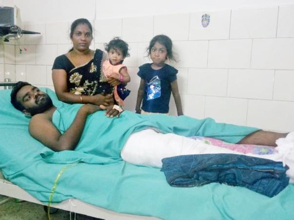 Help Senthil Kumar walk again!