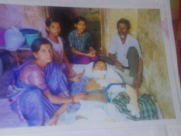 Temple Sweeper Can't Save Son Who'll be Bedridden Without Surgery