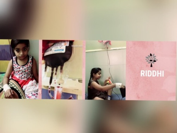 Help Riddhi Dayma Suffering From Thalassemia.