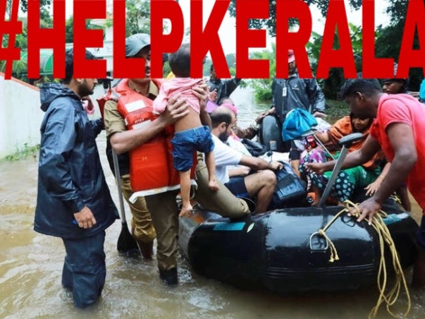 Help The Flood Victims Of Kerala