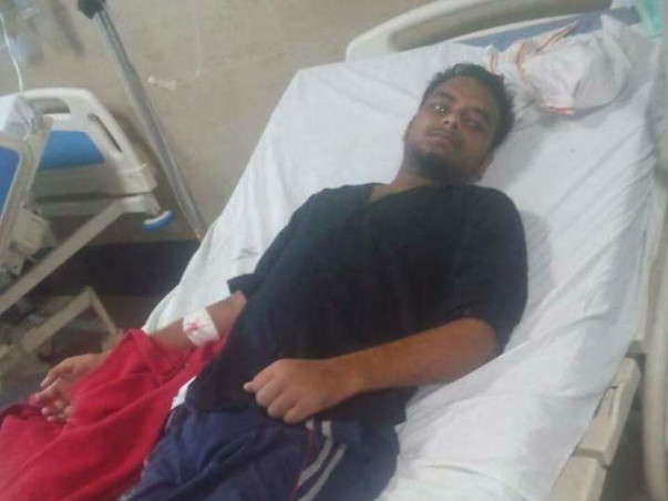 23 years Old boy Ramashrey is fighting with cancer to comeback to life