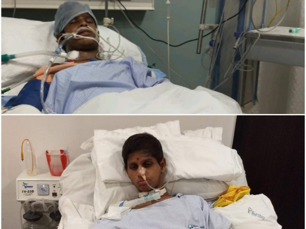 Nagesh Suffered A Horrific Brain Injury.Only Your Support Can Save Him