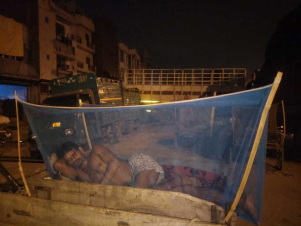 Project Sleep Well- Mosquito Nets For Homeless