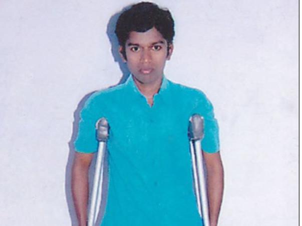Help Paul Raj walk again