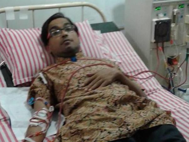 Help For Partha Sanyal Kidney Damage Patient