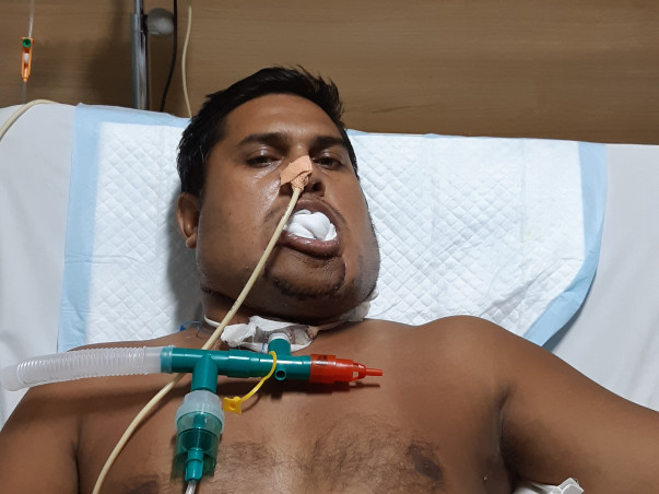 Help Rajendra Fight Mouth Cancer