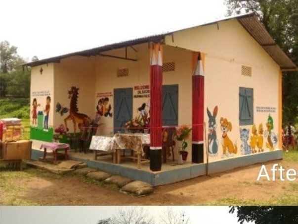 Upgrading Anganwadi Centers in rural Meghalaya