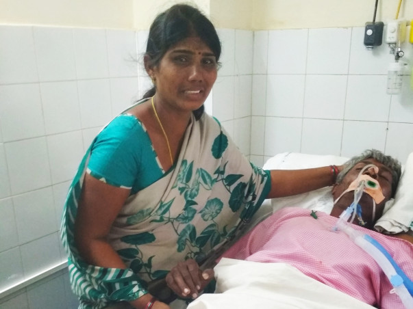 Help a Farmer who is fighting with brain stroke