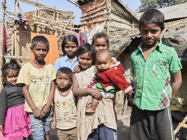 Help me feed poor children and the old in Kolkata this Durga Puja 2018