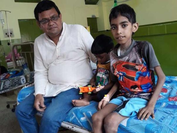 Urgent treatment of 3 HIV AIDS affected children