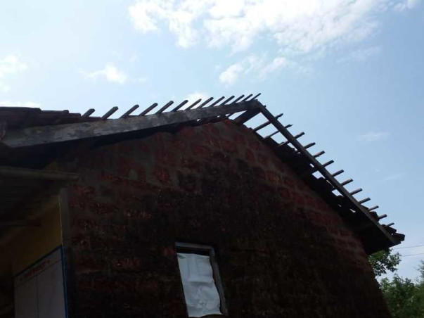 Cyclone Destroyed School Structure, Help Renovate The School