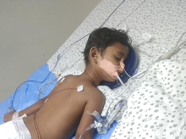 Save Little Harsha From Pneumonia... Pls HELP