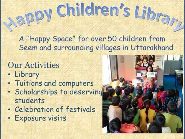 Help Happy Children's Library reach more children