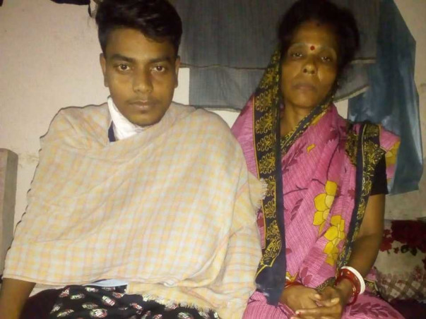 Save the only son of a temporary worker with a kidney transplant