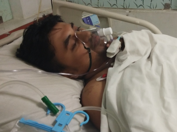 Help Sanjay Recover From Severe Injuries