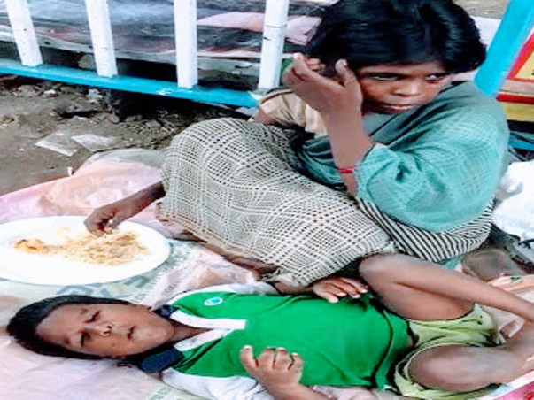 Help The Starving Mother Of A Blind Child
