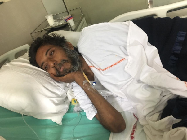 45 yr old Men need help to save his life