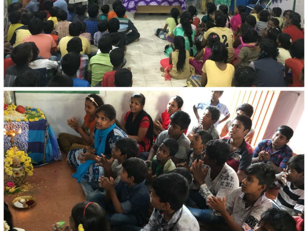 Funding of Educational Centres in slums