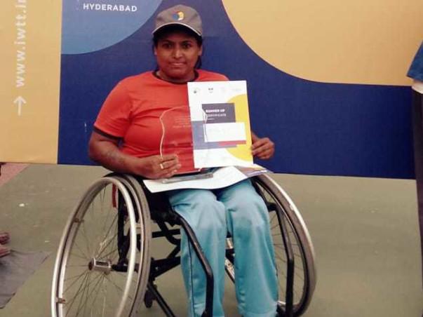 Help Shilpa Participate In Paralympic Tennis Tournament