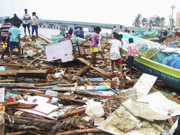 Please Help Us Provide Relief in Cyclone Affected Areas in Tamil Nadu